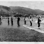 vintage photo of fishermen
