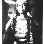 vintage photo of native woman