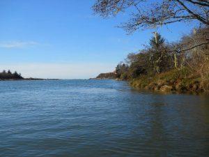 winchuck river shore