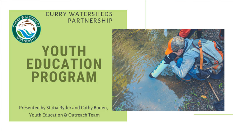 Curry youth education program cover