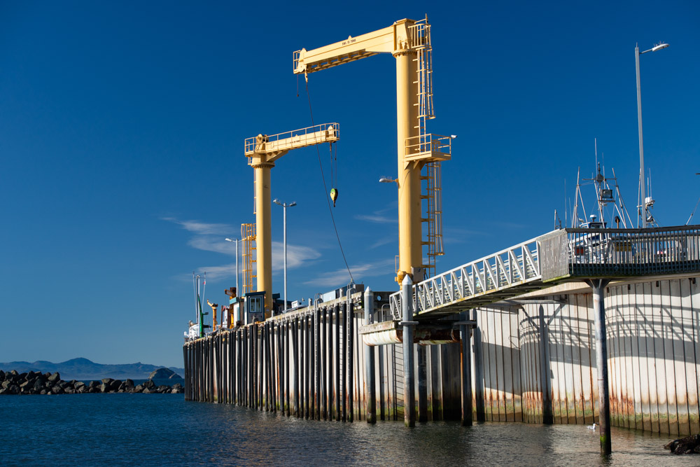 Port in Port Orford Oregon